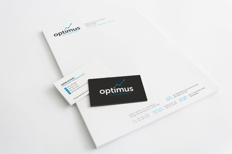 Optimus Accountancy -  huis stijl