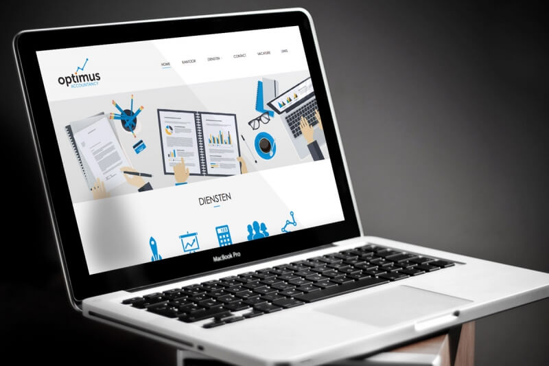 Optimus Accountancy -  Responsive  webdesign