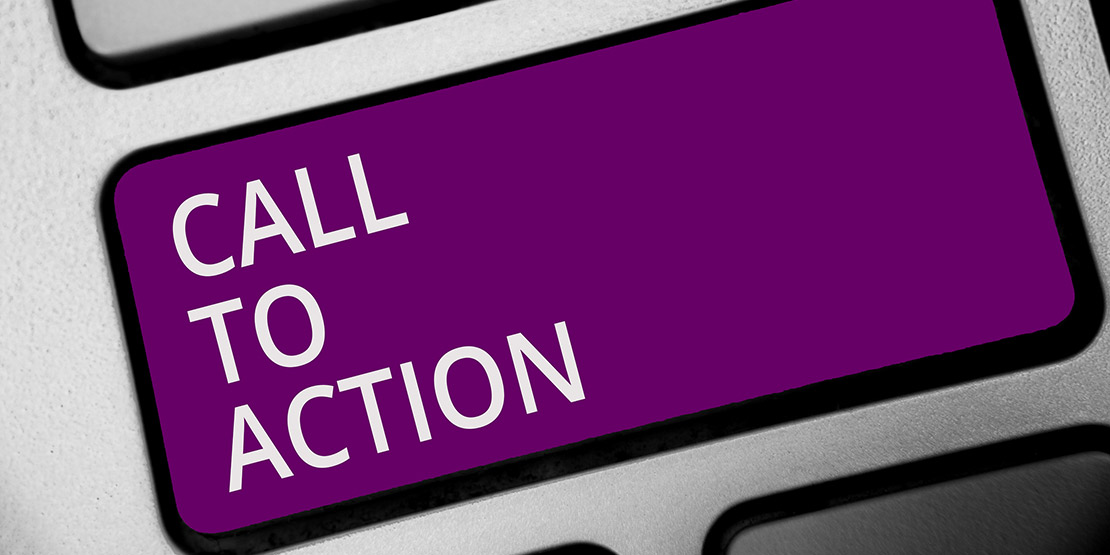 call to action knop