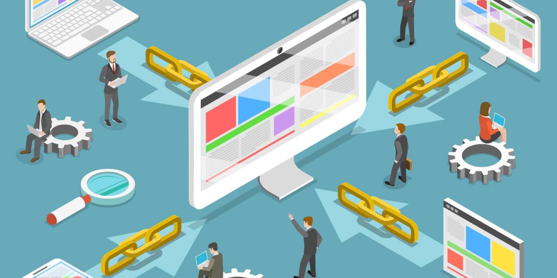 link building strategie is belangrijk voor SEO