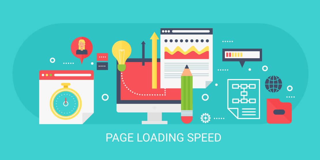 snelle pagina laadtijd is belangrijk voor SEO